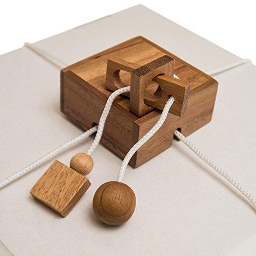 ROMBOL Geschenkesafe - Kreatives Geduldsspiel als Geschenkverpackung für Erwachsene und Kinder, Modell:1 - 2