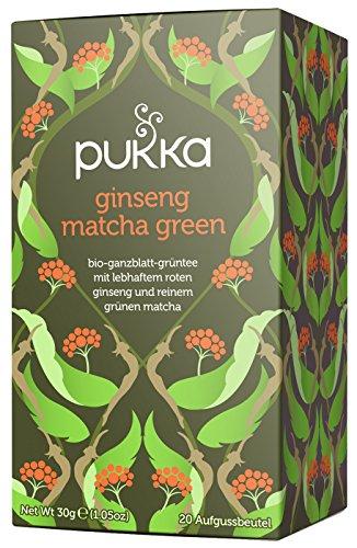 Pukka té-ginseng Matcha té verde 20bolsas de té