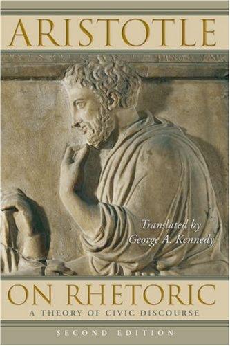 On Rhetoric: A Theory of Civic Discourse