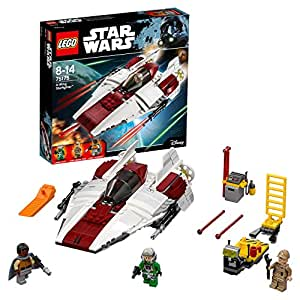 Lego Star Wars 75175, A- Wing Starfighter, giocattolo