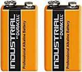 Duracell 2 x 9V Volt Industrial Battery Alkaline Replaces Procell Expiry 2019