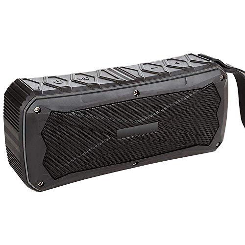 Bluetooth 4.1 Lautsprecher, Portable Bluetooth Speaker, Outdoor Sports Dual Speaker, Waterproof, Dustproof, Antifall,Black