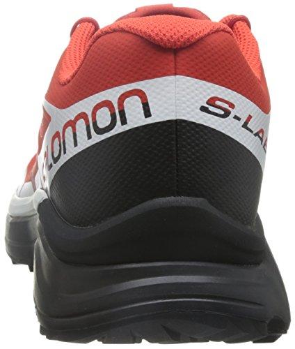 Unisex L39121500 Erwachsene Rot Salomon Schwarz Trekking Wanderhalbschuhe FUd5dEwq