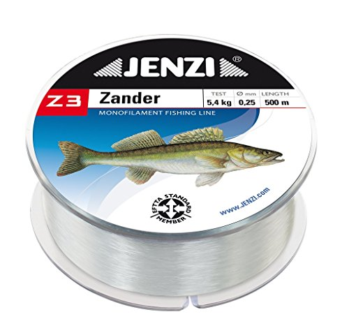 Jenzi Angelschnur Z3 Line Zander, 0,30mm, 6,7 kg, 500m