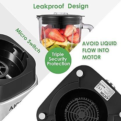 Aicok-Standmixer-Smoothie-Maker-15L-dickwandiges-Glas-mit-gebrstetem-edelstahlgehuse-1000W-24000-Umin-ohne-BPA-15-Geschwindigkeiten-und-3-Programme