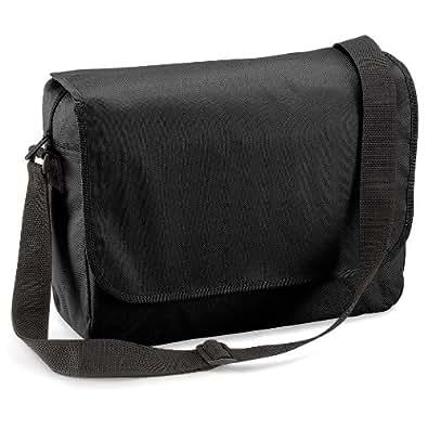 Quadra – cartable sacoche porte-documents QD514 noir - PET recyclé - mixte adulte