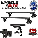 Toyota Corolla mk8 4&5 Dr 98-01 Roof Bars Rack 75KG Model Custom Direct Tested