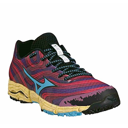 Chaussures Wave Kazan - femme - 2014 Chinese Red / Alaskan Blue / Purple Passion