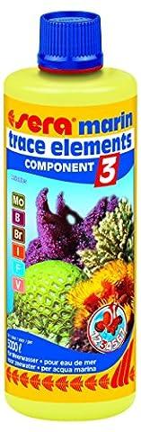 sera 03423 marin Component 3 trace elem. Anionics 500 ml - Liefert wichtige Spurenelemente für den täglichen Bedarf