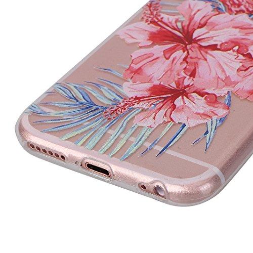 Hülle iPhone 6 Plus Silikon Weich TPU Zurück Schutzhülle Bumper Flamingo Schale Stoßstange Tasche Halter Handyhülle Handytasche Abdeckung Zurück Schutzhülle Haut Fall Mirror Effect Case Soft TPU Anti- color-7