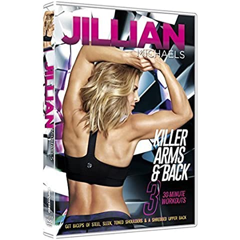 Jillian Michaels - Killer Arms and Back - PAL - New For (Arm & Hammer Menta Soda)