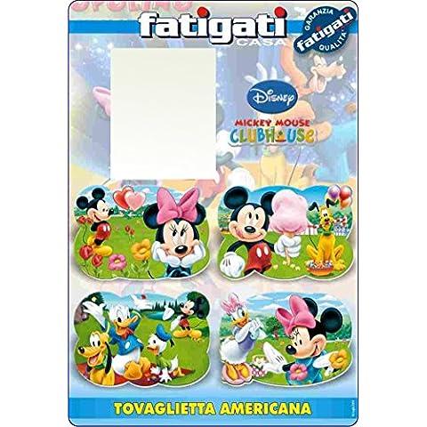 Tovaglietta americana Mickey Mouse colazione pranzo cena - Mouse Pranzo