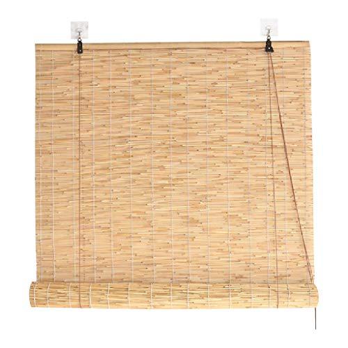 Bambusvorhänge Reed Vorhang, Bambus rollos, wanddekoration, Sonnenschirm/Heben/partition/wasserdicht/Anti-mehltau, größe kann angepasst Werden