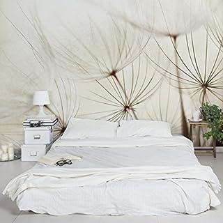 Apalis 94788 Vlies / Fototapete Sanfte Gräser Breit | Vlies Tapete Wandtapete Wandbild Foto 3D Fototapete für Schlafzimmer Wohnzimmer Küche | Größe: 255x384 cm