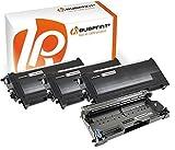 Bubprint 3 Toner & Trommel kompatibel für Brother TN2000 DR2000 für DCP-7010 DCP-7020 Fax 2820 2920 HL-2030 HL-2032 HL-2040 HL-2070N MFC-7420 MFC-7820