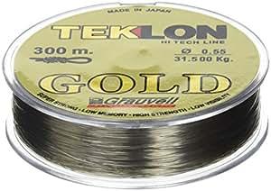 Teklon 421416 Gold Fil de pèche 16 mm