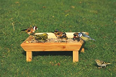 C J Wildbird Foods Square Bird Feeding Table by C J Wildlife