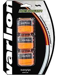 Varlion Hexagon - Overgrip de pádel, color naranja flúor