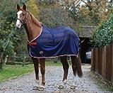 "Weatherbeeta Scrim Pony/Horse Cooler Standard - Navy/Red/White: 6ft3"""