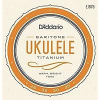 D'Addario EJ87B Saitensatz Titanium Ukulele Baritone