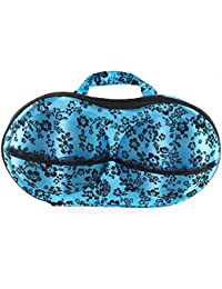 Kurtzy Bra Bag Case Portable Lingerie Underwear Panty Organizer For Storage & Travel Assorted Colors