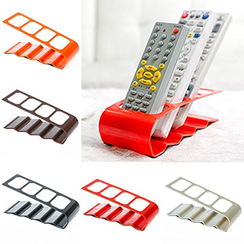 Inovera TV DVD AC Remote Control Holder Stand Storage Caddy Organiser Box,Assorted Colour  available at amazon for Rs.169
