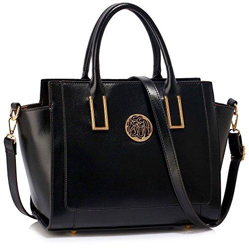 Meine Damen Umhängetaschen Frauen Große Designer Handtaschentoteschulterkunstleder Modische Taschen (Designer Kinder Schuhe Rabatt)