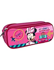 MINNIE - Trousse scolaire double Minnie Flight