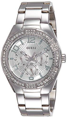 Guess  W0729L1 – Reloj de lujo para mujer, color plateado