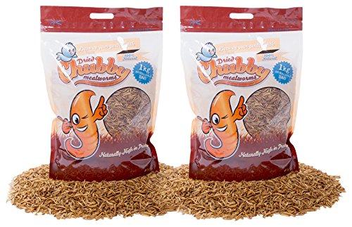 Chubby Mehlwürmer Getrocknete Mehlwürmer, 2kg