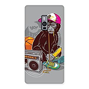 Delighted Monkey Music Back Case Cover for OnePlus Two