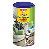 STV International Zero In 300 g Home Flea Powder (Killer Treatment for Carpets and Rugs in the Home, Kills Fleas and Larvae, Treats up to 10 sq m)