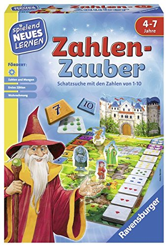 Zahlen-Zauber: Schatzsuche mit Den Zahlen von 1-10