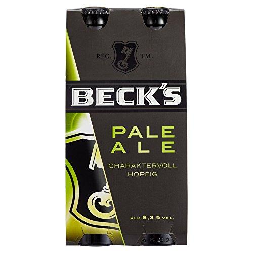 Beck's Pale Ale Mehrweg, (4 x 0,33 l)