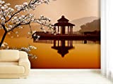 Fototapete Asian Pavillon - weitere Größen und Materialien wählbar - DEUTSCHE PROFI QUALITÄT von Trendwände