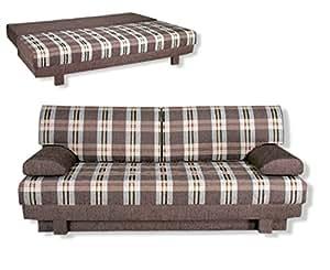 roller roller schlafsofa aurelia braun braun k che haushalt. Black Bedroom Furniture Sets. Home Design Ideas
