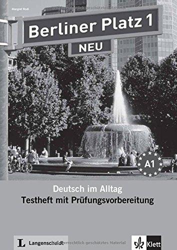 Berliner Platz Neu: Testheft 1 MIT CD by Margret Rodi (2010-06-01)