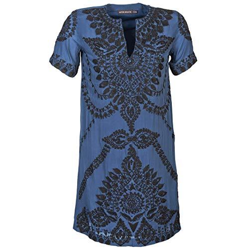 Antik Batik ISIS Kleider Damen Blau - DE 34 (EU 36) - Kurze Kleider