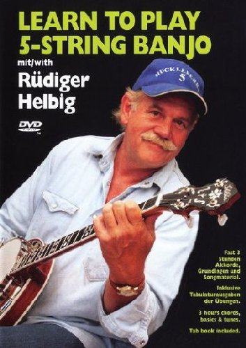 Preisvergleich Produktbild Learn to play 5-String Banjo mit Rüdiger Helbig