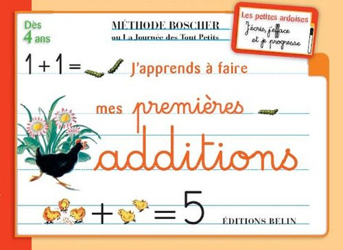 Ardoises Boscher - Les premires additions par Collectif