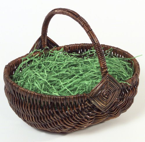 brauns-heitmann-62617-basket-with-handle-24-x-19-x-10-cm-with-green-grass-brown