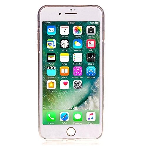 KM-WEN® Schutzhülle für Apple iPhone 6 Plus / 6s Plus (5,5 Zoll) Ultra-dünnes Mode Bling Shining Muster Slim Weiche TPU Case Cover Rückseite Schutzhülle Hülle für Apple iPhone 6 Plus / 6s Plus (5,5 Zo Gold
