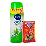 #7: Nycil Cool Gulabjal Powder, 150g With Glucon-D Instant Energy Orange, 100g