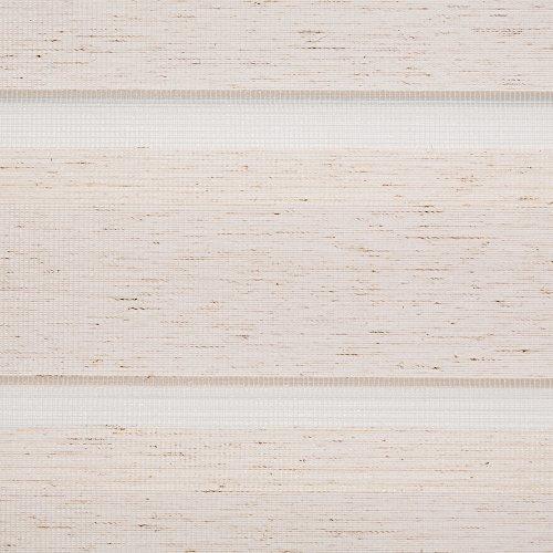 Lichtblick Duo-Rollo Klemmfix, 45 cm x 150 cm in Natur, Doppelrollo für Fenster & Türen, moderner Sichtschutz, innovative Kombination aus Rollo & Jalousie