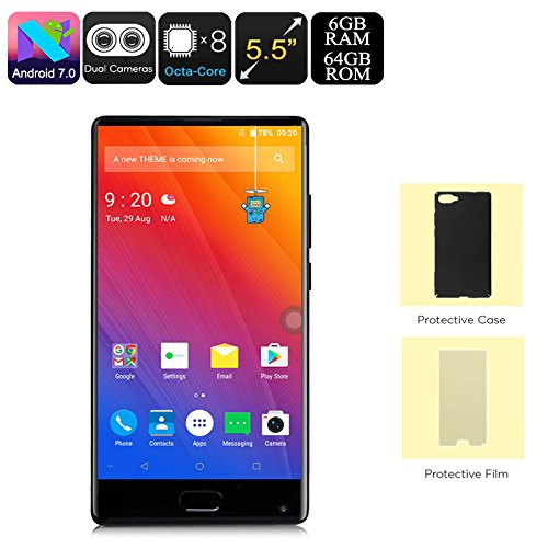 Foto Telefonia Mobile, DOOGEE MIX Smartphone in Offerta Dual SIM - 4G Android 7.0...