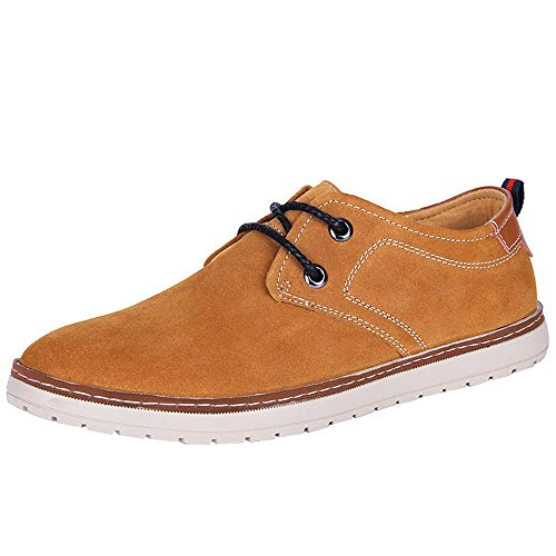 imayson-mens-casual-suede-leather-daily-time-sneaker-lace-up-shoes-uk-7-color-brown