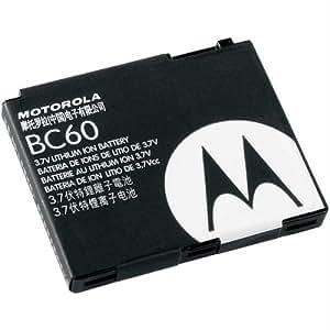Motorola Li-Ion Battery BC60 (BC-60) for SLVR L7 L6 V8 V3x BATTERY SNN5768A BC60