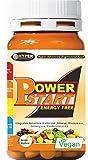 Power Start Vitamine Minerali Integratore Multivitaminico Multiminerale Con Ginseng Rodiola Eleuterococco Vitamine A C D B E Zinco Selenio 60 compresse 66 gr