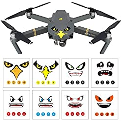 RCstyle 3M Emoji Decal Vinyl Sticker Set für DJI Mavic Pro