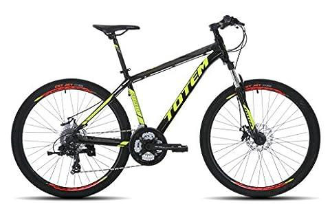 SALES Mens 26'' Mountain Bikes Bicycles 27 Speeds SHIMANO aluminium Frame (Black)